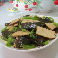 海带炒卤肉