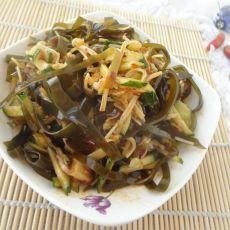 海带拌金针菇黄瓜