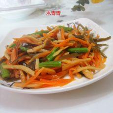 海带鱿鱼萝卜丝
