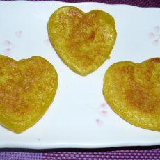 心形南瓜糯米饼