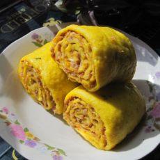 黄金南瓜肉卷