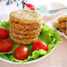 芝麻薏米南瓜饼