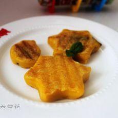 星星月亮南瓜饼