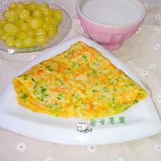 葱香南瓜丝饼