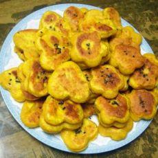 金灿灿的南瓜饼