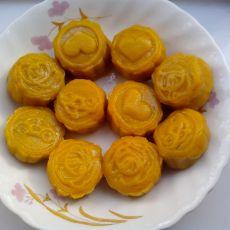 南瓜紫薯小饼