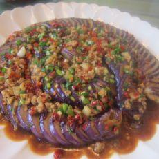 盘龙肉末茄子