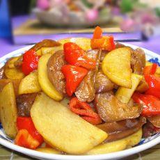 土豆片炒茄子
