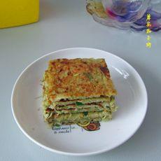 葱花茄子饼