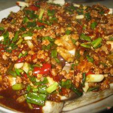 剁椒肉末蒸茄子的做法