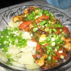 大拌茄子土豆的做法