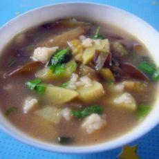 茄子土豆疙瘩汤