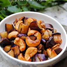腰果香菇茄丁