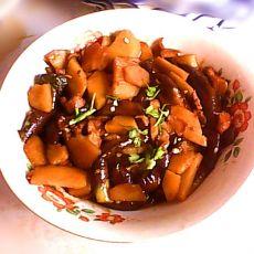 家常土豆炖茄子
