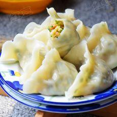 韭菜豆腐鸡蛋水饺的做法