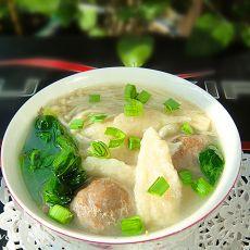 菌菇疙瘩汤