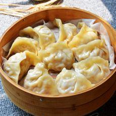 黄豆芽蒸饺