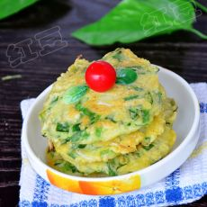 蔬菜早餐饼