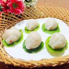 玉兔水晶虾饺