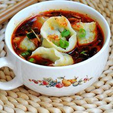酸汤素水饺