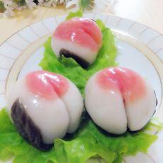 寿桃年糕的做法