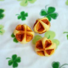 绣球饼――不用烤箱也可以做的小点心的做法