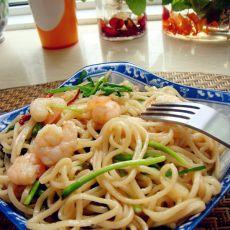 泰式海鲜炒面的做法