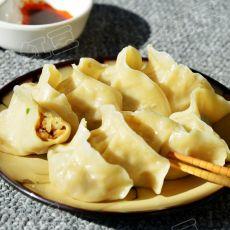 大白菜香菇猪肉水饺