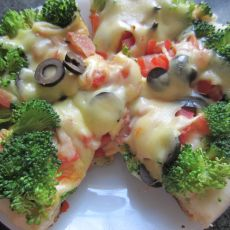 免烤版披萨的做法