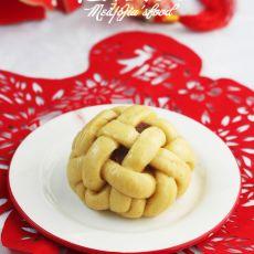 黄米面锦绣豆包