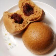 茶香粗粮豆沙包
