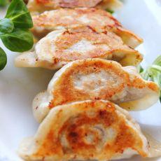球茎茴香蘑菇鸡肉煎饺
