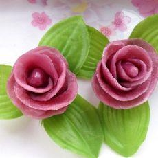 【原创首发】紫薯玫瑰花小馒头