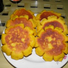 南瓜豆沙饼的做法