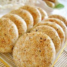 电饼铛之麻酱烧饼的做法