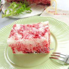 炫彩米粉发糕的做法