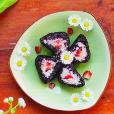 草莓糯米卷