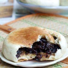 黑米红糖饼