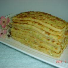 鸡蛋早餐饼的做法
