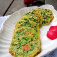 韭菜香肠蛋饼