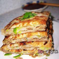 葱香千层饼