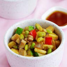 玉米面炒疙瘩的做法