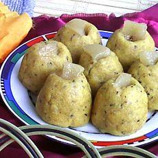 桃子豆渣玉米面窝窝头的做法