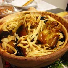 干豆腐砂锅茄子
