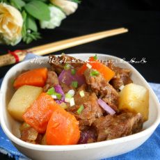 电饭锅版土豆焖鸭