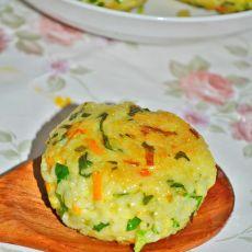 杂蔬奶香饭团