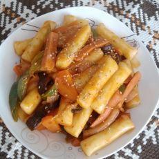 韩国泡菜炒年糕