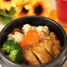 日式煎鸡饭