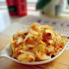 开胃辣白菜的做法