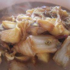 白菜土豆炖粉条
